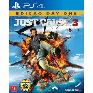Just Cause 3 - Edição Day One - PS4