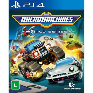 Jogo Micro Machines World Series PS4