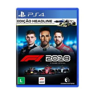 Jogo F1 2018 Edição Headline PS4 9b4a727fe8a85