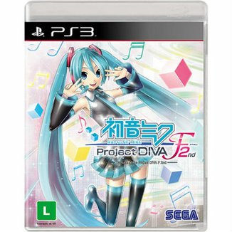 Hatsune Miku: Project Diva F 2Nd - PS3