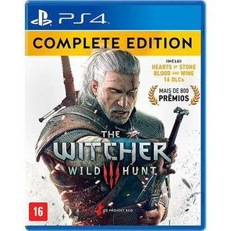 THE WITCHER COMPLETE EDITION PS4