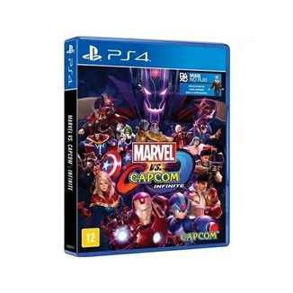 Jogo Marvel Vs Capcom Infinite Ed. Limitada - Ps4