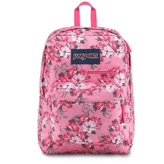 b90703772 Mochila Jansport Digibreak Prism Pink Pretty Posey