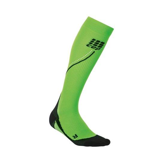 2e687820c Meia de Compressão CEP Pro Night Run Socks 2.0 Tamanho IV - Verde+Preto