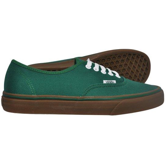 630317f9054 Tênis Vans Authentic Gumsole Green - 41 - Compre Agora