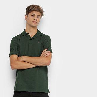 30ca66b1da1fd Camisa Polo Infantil Tommy Hilfiger Knit New Masculina