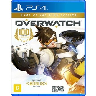 Jogo Overwatch: Game Of The Year Edition Ps4