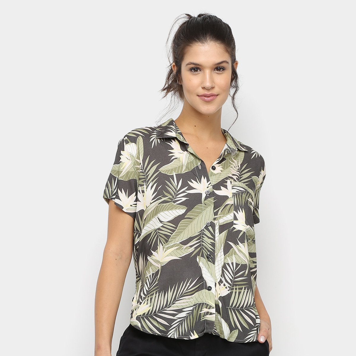 Camisa Volcom Gen Wow Feminina
