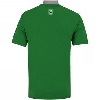 5b9de7bc11 Camiseta Zé Carretilha Palmeiras Jardim Suspenso - Verde - GG