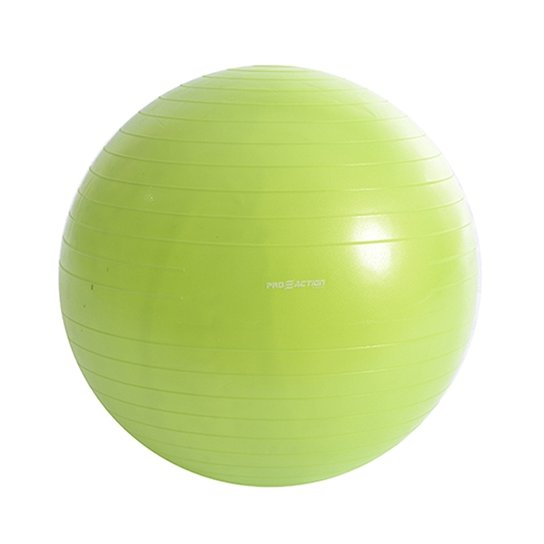 Bola Para Pilates Gym Ball Anti Estouro - Proaction - 55Cm - Verde ... 652139f79c8bc
