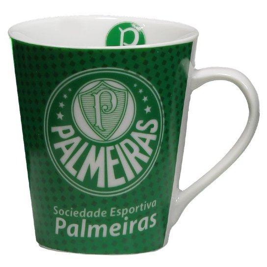 803460dfc6 Caneca de Porcelana Palmeiras - Verde - Compre Agora