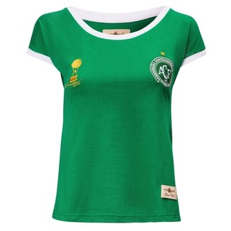 Camisa Feminina Baby Look Retrô Gol Chapecoense Sulamericana 2016 9ea955f70ef3d