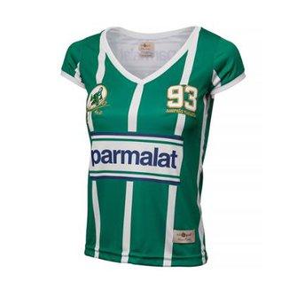 bd45be418d41d Camisa Palmeiras Retrô Gol Zinho Feminina