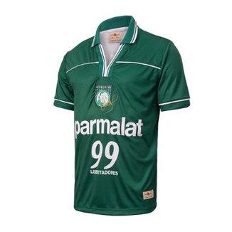 dd71601f12 Camisa Palmeiras Retrô Gol Oséas Libertadores 99 Masculina