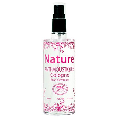 Colônia Antimosquitos Cadentia Nature Rose Geranium Spray 125ml