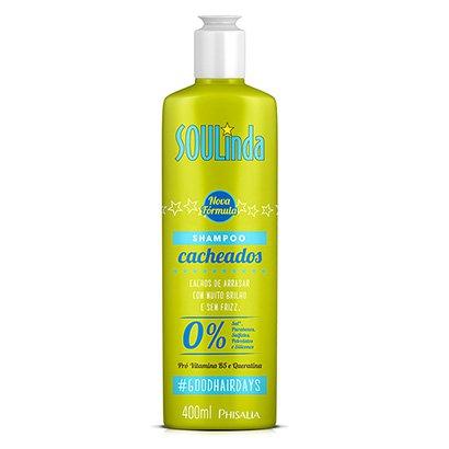 Shampoo Phisalia Sou Linda Cabelos Cacheados 400ml