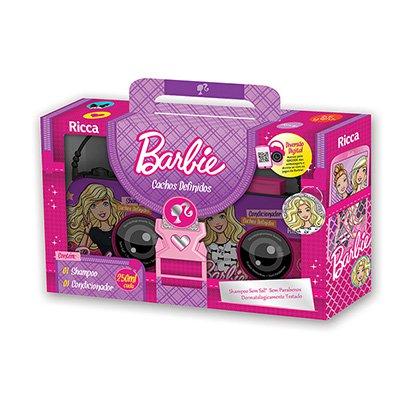 Kit Ricca Barbie Frutas Vermelhas Cachos Definidos Shampoo 250 ml +...
