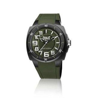 b3f675e4801 Relógio Pulso Everlast Bold E680 Com Pulseira Silicone