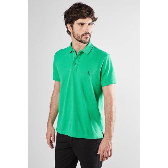 063c6bd7ac Polo Cont. Basica Piquet Reserva Masculina - Verde - Compre Agora ...