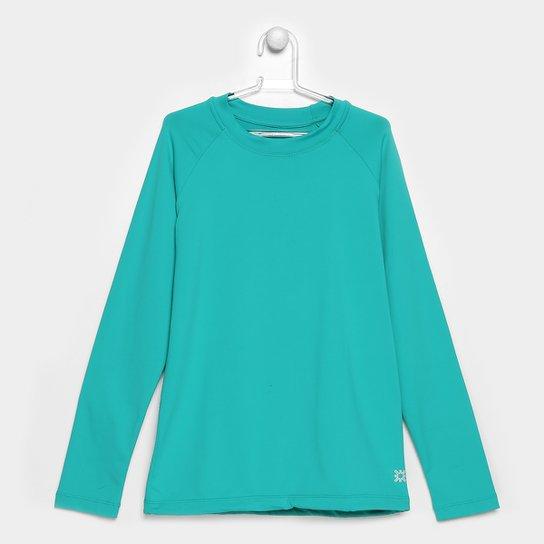 8e1ae3309d2e2 Camiseta Infantil Uv.Line UV Pro Lisa - Compre Agora
