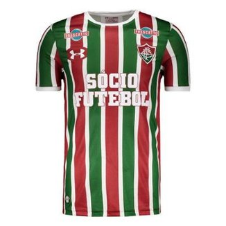 Camisa Under Armour Fluminense I 2017 Com Patrocínio