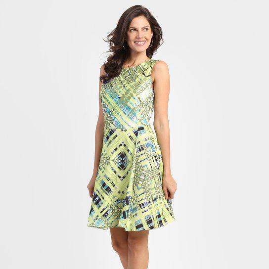 035948dae Vestido Iódice Estampado Evasê - Compre Agora | Netshoes