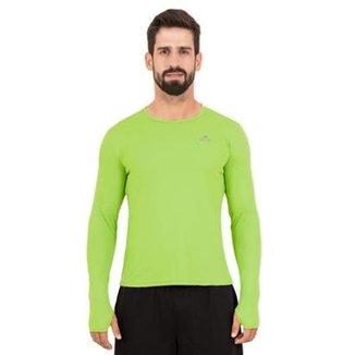 Camisa Manga Longa G1 UV50 LS HC Muvin Masculina b1821423678cd