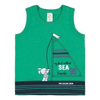 Camiseta Regata Infantil Pulla Bulla Meia Malha Masculino 172c218d186c0