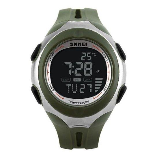 f95bff7f918 Relógio Skmei Digital Termômetro 1080 - Verde - Compre Agora