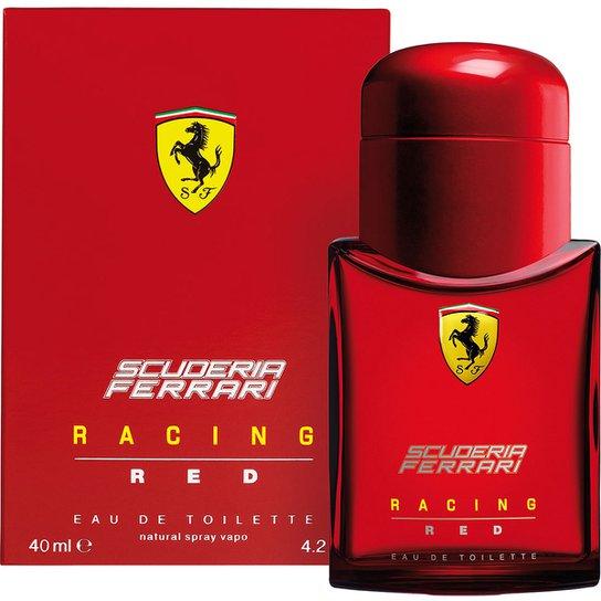 6107c9cf3b Ferrari Perfume Masculino Racing Red EDT 40ml | Netshoes