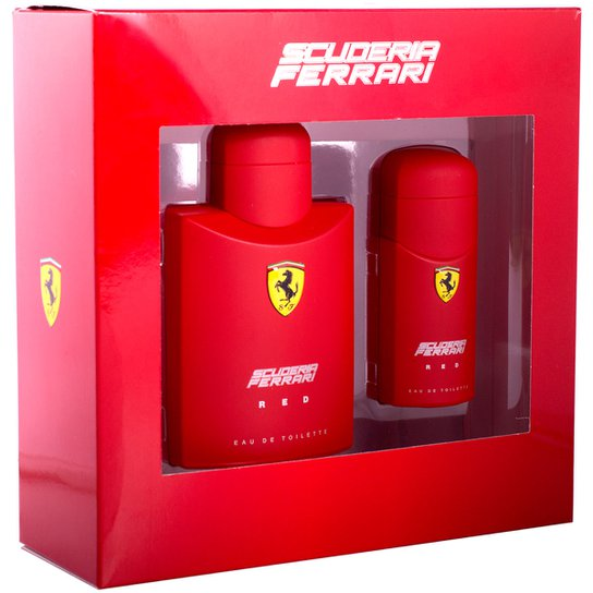 f28831c5c3 Kit Perfume Masculino Ferrari Red EDT 125ml + Perfume Masculino Red 30ml -  Incolor