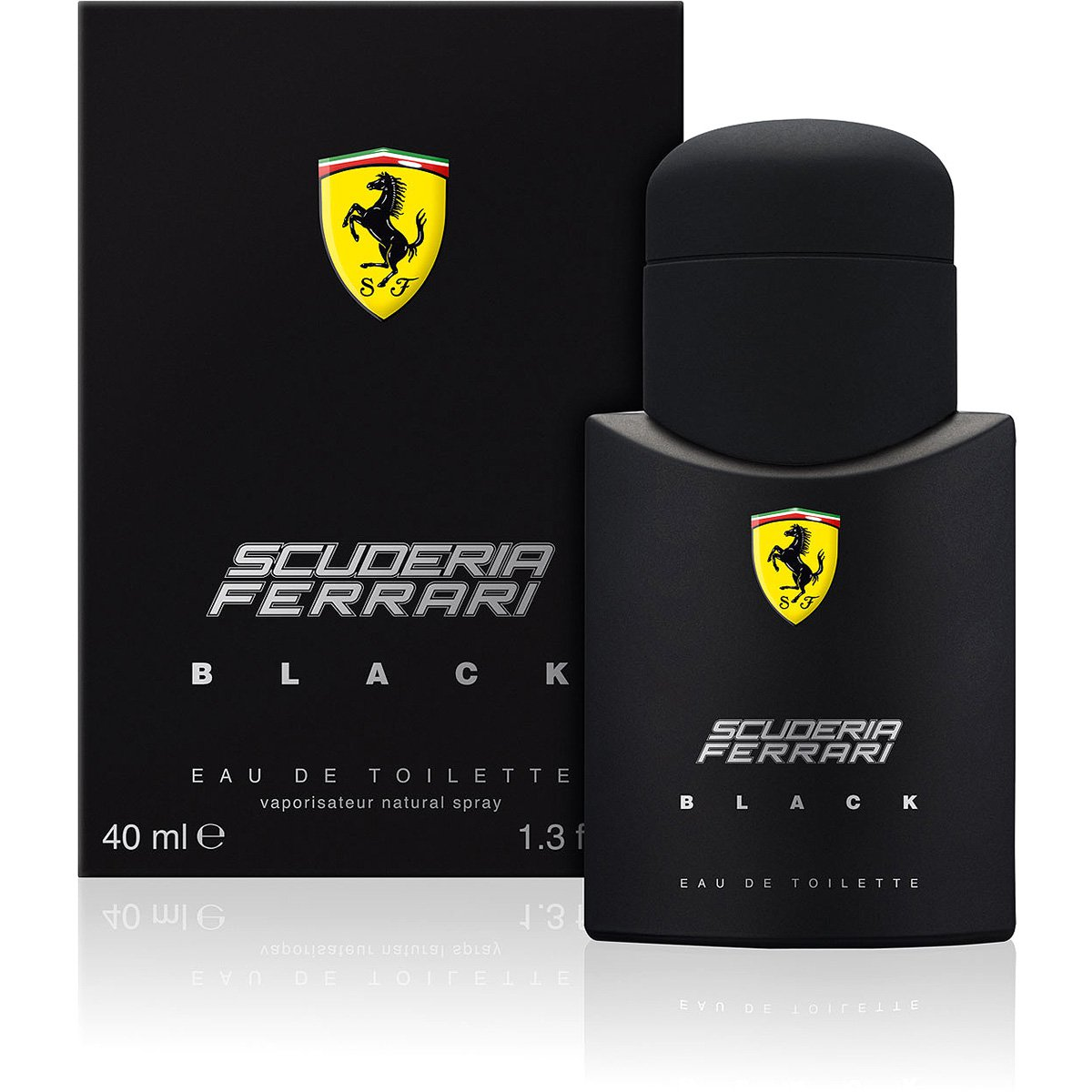 713a1fad1 Ferrari Perfume Masculino Black EDT 40ml