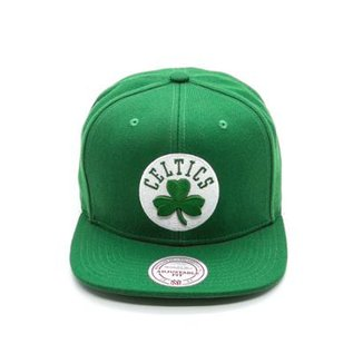 Boné Mitchell & Ness Solid NBA Boston Celtics Aba Reta