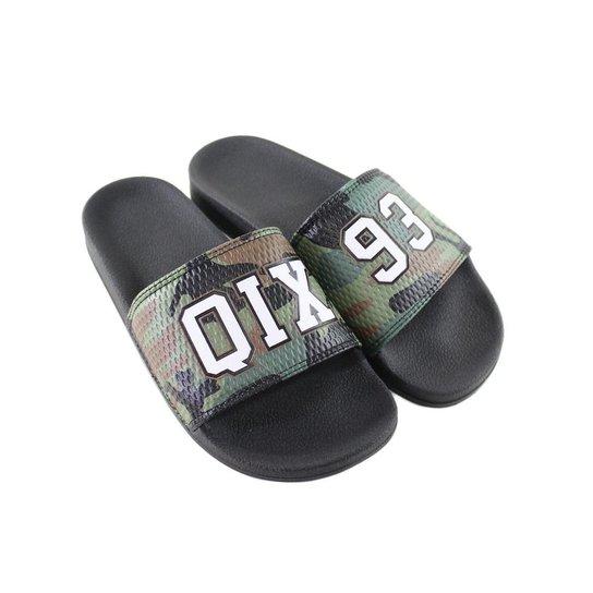 36ca718534e Chinelo Slide Qix 93 - Verde - Compre Agora