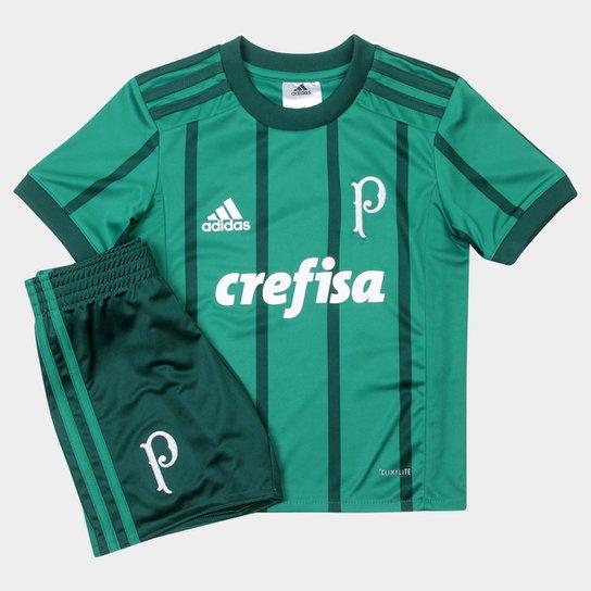 7e40fb3ebb422 Kit Palmeiras Infantil Adidas I 17/18 | Netshoes
