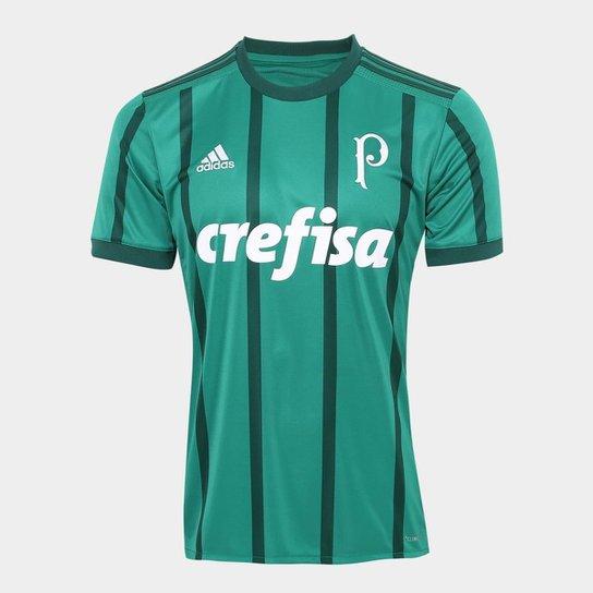 386d7941c5 Camisa Palmeiras I 17 18 s nº Torcedor Adidas Masculina - Verde ...
