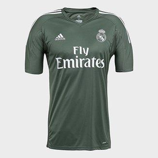 Camisa Real Madrid Goleiro 17 18 - Torcedor Adidas Masculina bd165e3319ee4