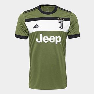 fcc5f619a9c01 Camisa Juventus Third 17 18 - S N Torcedor Adidas Masculina