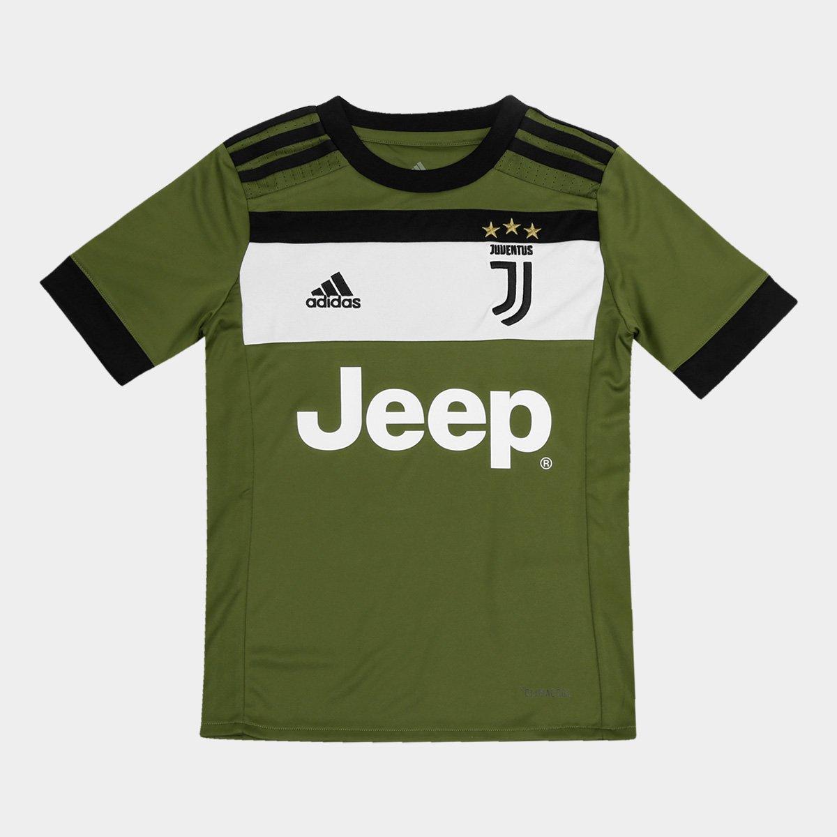 Camisa Juventus Infantil Third 17 18 - S N Torcedor Adidas  2b423b5e76507