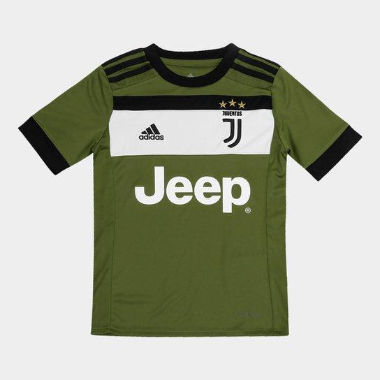 b3bde6b18 Camisa Juventus Infantil Third 17 18 - S N Torcedor Adidas - Compre ...