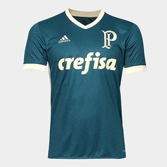 bac2db2ec2 Camisa Palmeiras III 17 18 s nº Torcedor Adidas Masculina