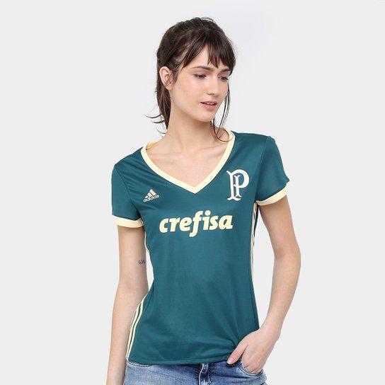 21d8aa4d035c5 Camisa Palmeiras III 17 18 s nº Torcedor Adidas Feminina - Compre ...
