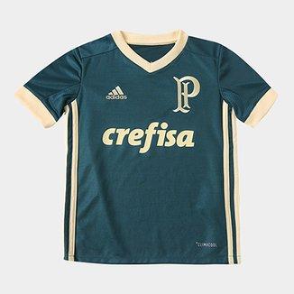 8ad0afdf39 Camisa Palmeiras Infantil III 17 18 s nº Torcedor Adidas
