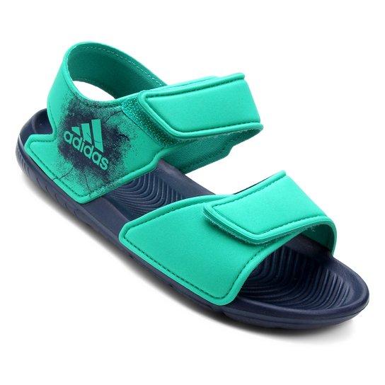 5e9fcfff652 Sandália Infantil Adidas Altaswim - Verde - Compre Agora