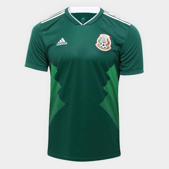 06398e2be5de8 Camisa Seleção México Home 2018 s n°Torcedor Adidas Masculina - Verde