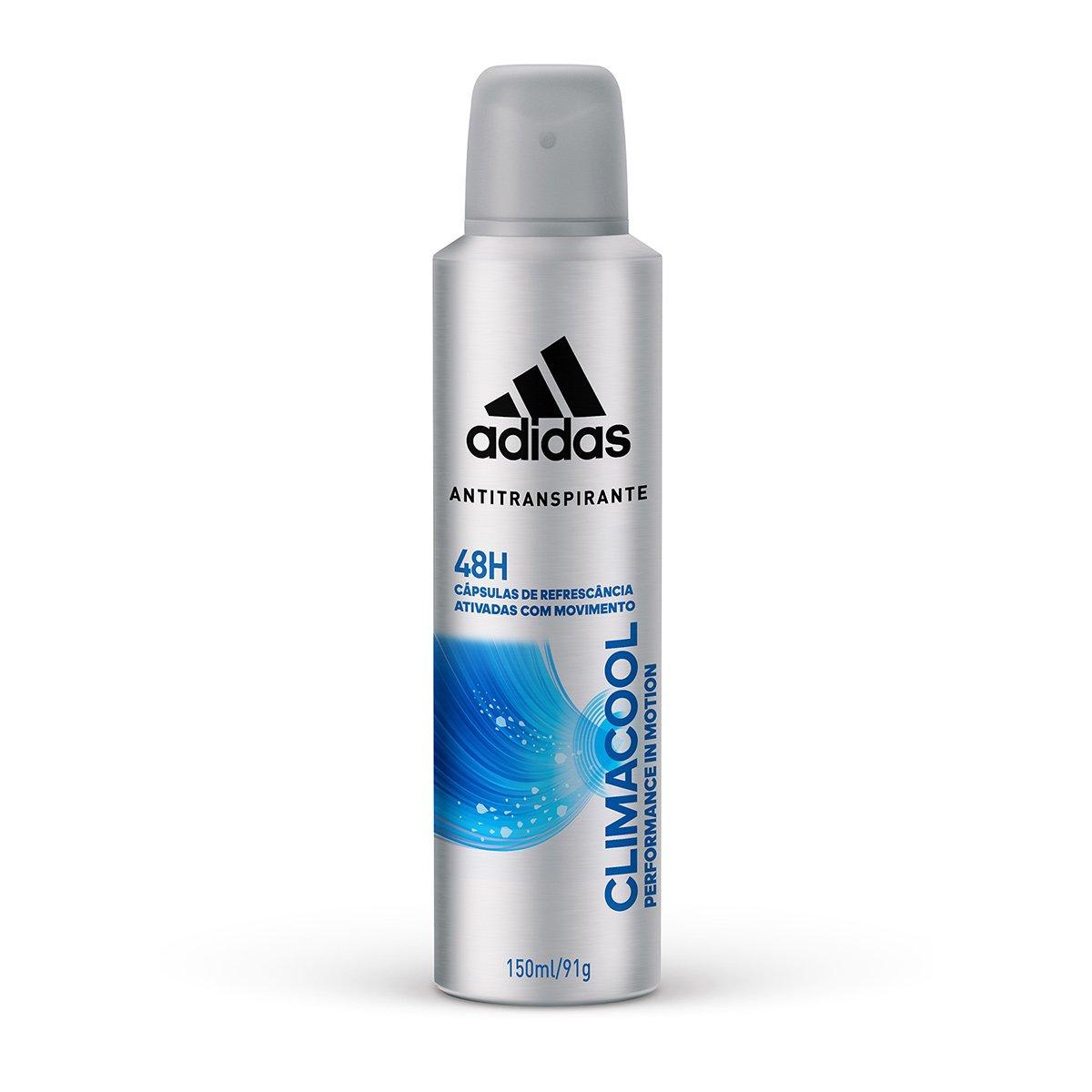 43601d601 23%OFF Desodorante Adidas Climacool Aerosol Masculino 150 ml