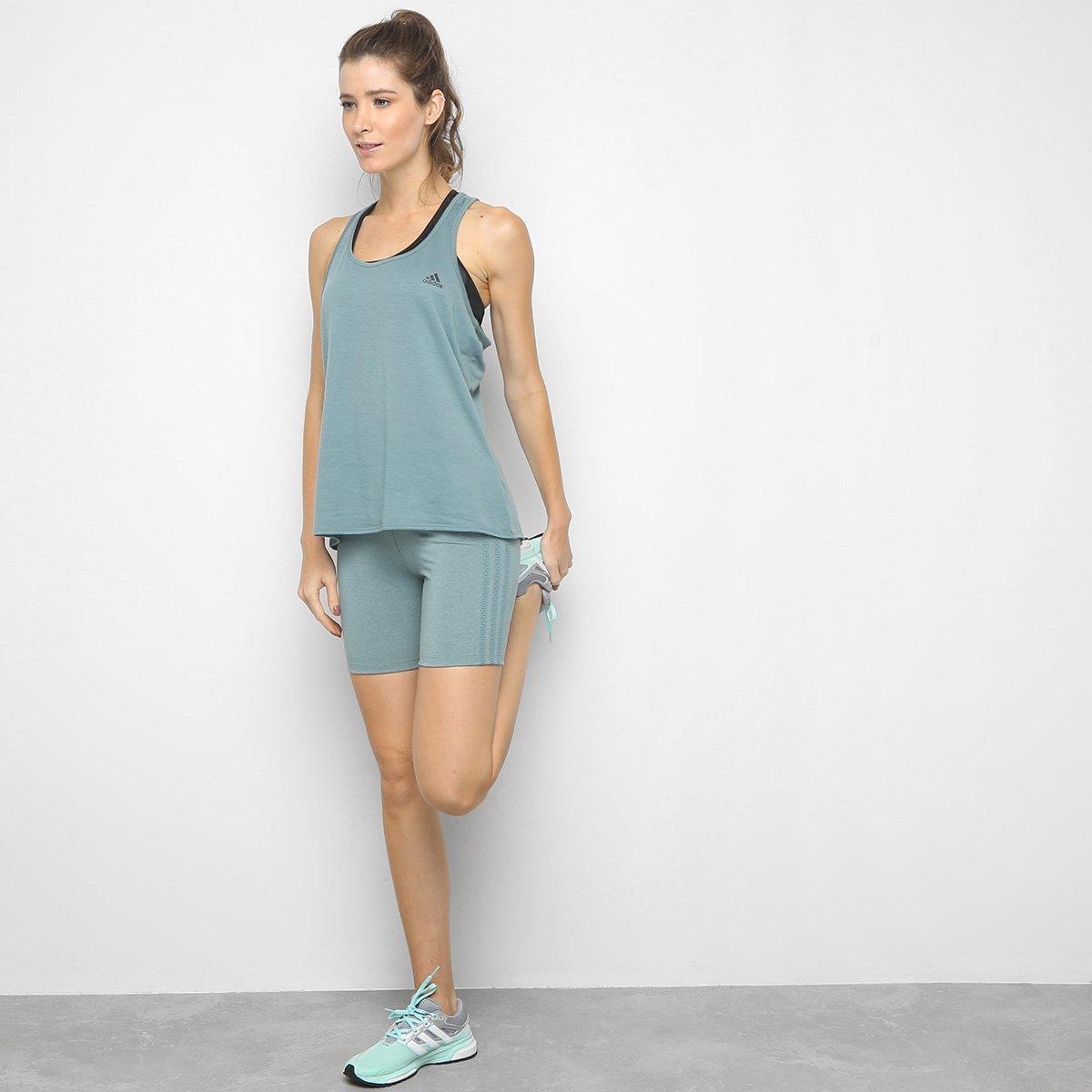 Bermuda Adidas 3 Stripes Tgh Feminina - Tam: EP - 2