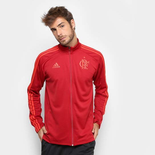 6786ff20e5 Jaqueta Flamengo Treino Adidas Masculina - Vermelho - Compre Agora ...