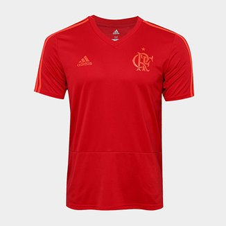 e0375e3175 Camisa Flamengo Treino Adidas Masculina