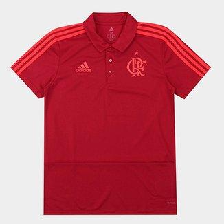 5b2e9b5a58328 Camisa Polo Flamengo Adidas Viagem Masculina